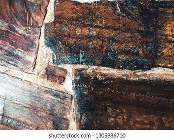 Texture of granite background. Granite Texture White Base with Brown Gray Spots