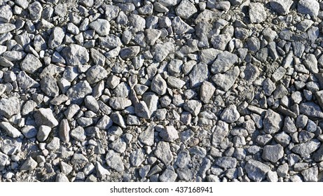 The texture of gravel small stone wall, marble, granite gravel