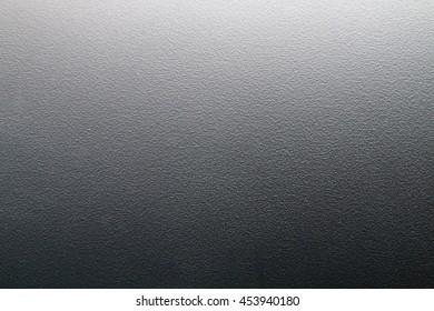 The texture of gray plastic fiber.