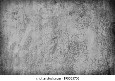 texture of the gray polished concrete wall with scratches for background
