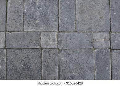 texture of grey tiles