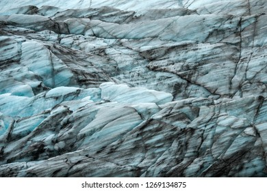 texture of iceberg and pettern of dust