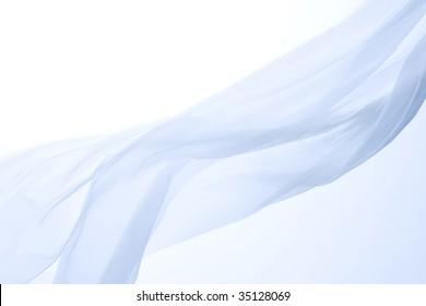TEXTURE IMAGE- unique shape of a  blue cloth