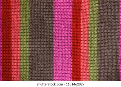 texture of a knitted cloth