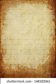 texture light yellow old grungy paper background