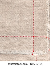 texture of linen for background