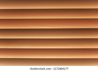 Texture of louver or jalousie, sunlight through the jalousie