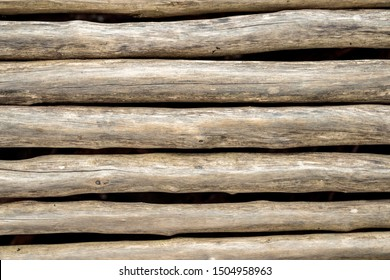 texture Lumber lined up. Background of timber