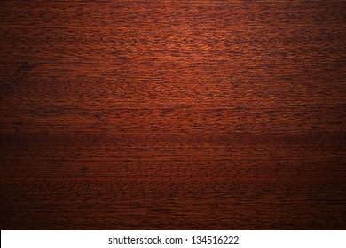 Texture of mahogany wood background