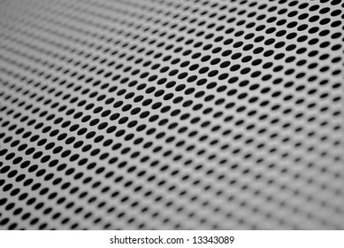 Texture of the metal