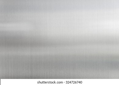 texture metal background of brushed steel plate.