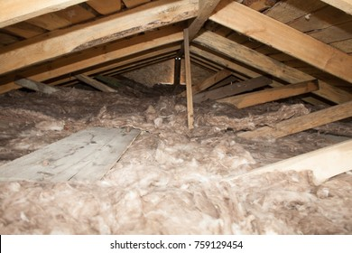 The texture of mineral wool for insulating