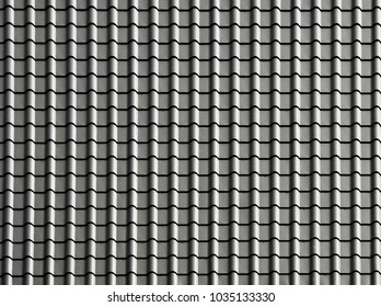 texture of modern house roof
