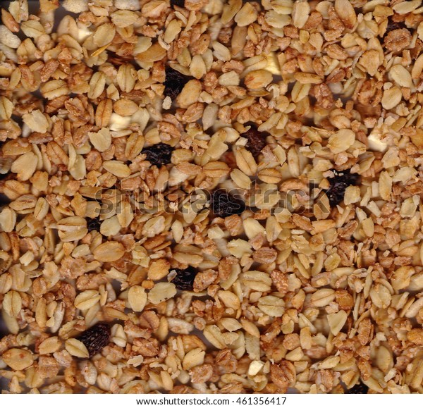texture of the muesli