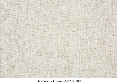 The texture of the natural linen.