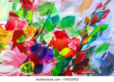 texture oil painting flowers, painting vivid flowers, floral still life