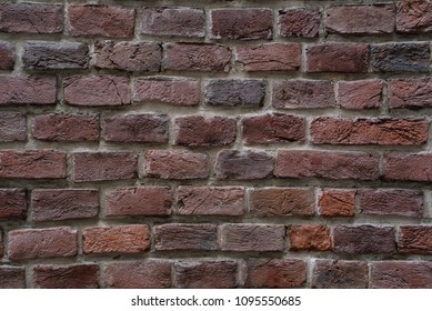 Texture of an old brick wall