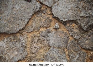 Texture of old broken floor
