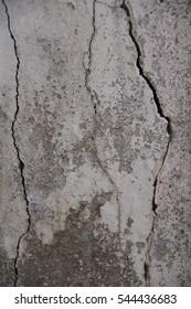 Texture of old broken wall