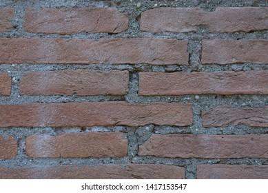 Texture of old building bricks