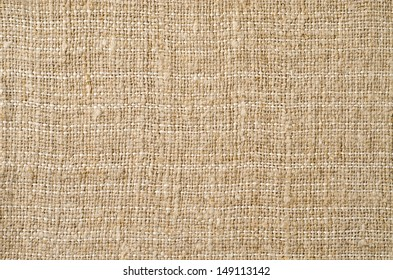 Texture of the old burlap