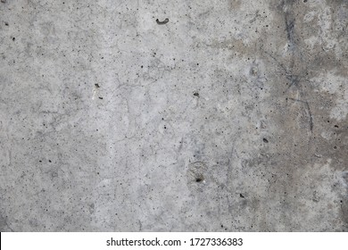 Texture of old concrete wall on the street