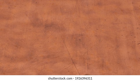 texture of old metal copper sheet with scratch
