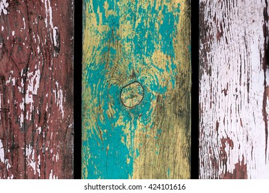 The Texture of an Old Plank