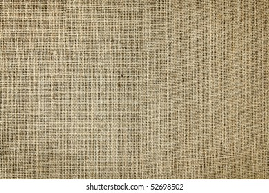 Texture of old sack close up