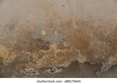 Texture of old shabby painted wall