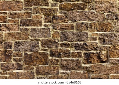 Texture of an old stone wall.