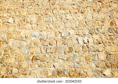 Texture of old stone wall, may be used as background