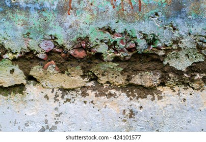 The Texture of Old Weathered Wall