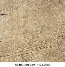 Texture of old wood (rough cut)