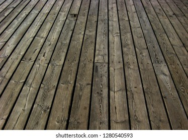 Texture of old wooden slats vintage boards