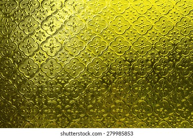 Texture on the glass window.Used yellow filter.