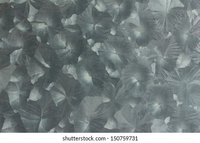 Texture on metal sheet surface