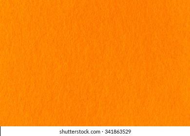 texture of  orange felt