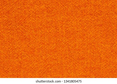 Texture of orange textile for background