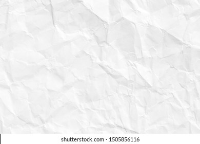 The texture of the paper is old and crumpled. The background is white.