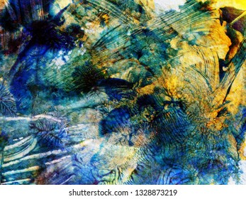 texture paper with stains of paint. background