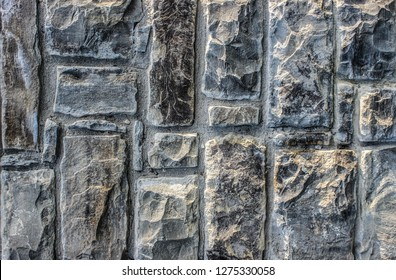 Texture, pattern, background or wallpaper of old stone wall