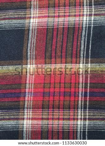 Texture Pattern Scottish Tartan Pattern Red Stock Photo (Edit Now ... 2b1209d2e