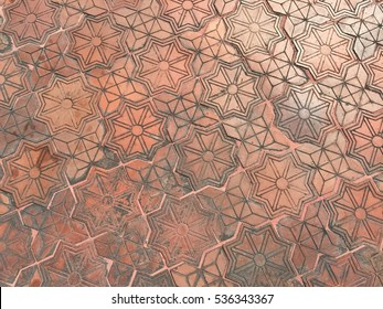 Texture or pattern of walkway background