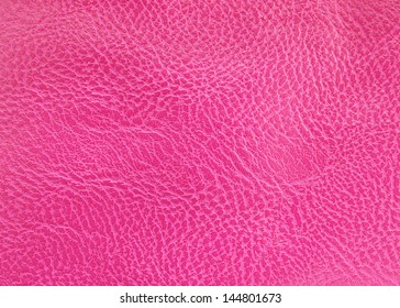 Texture of Pink leather for use as Background on web or any.