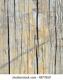texture of plane wood board. It is darken from time and weather.