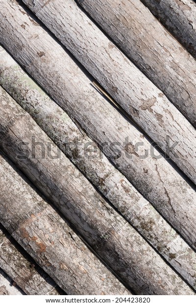The texture of planks