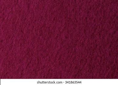 texture of  red felt