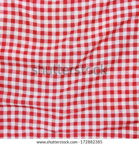 Texture Red White Checkered Picnic Blanket Stock Photo Edit Now Impressive Picnic Blanket Pattern
