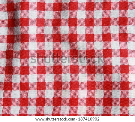 Texture Red White Checkered Picnic Blanket Stock Photo Edit Now Amazing Picnic Blanket Pattern
